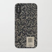 notebook iPhone & iPod Cases featuring Notebook by Zepto Grfx