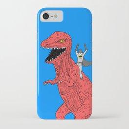 Dinosaur B Forever iPhone Case