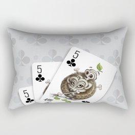 Small but Dangerous / Cards for my arts Rectangular Pillow