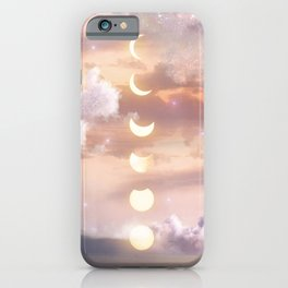 The Sea and the Moon iPhone Case