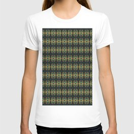 Peacock Bead Abstract T-shirt