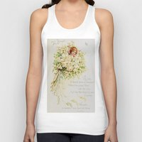 wedding Tank Tops featuring Wedding Bells by Lucia
