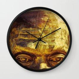 Gold Face Wall Clock