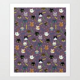 Kitty Party Art Print
