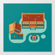 beijing icon Canvas Print