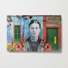 Casa Azul Metal Print