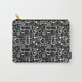 Rectangles and Elipses in BnW (2018) Carry-All Pouch