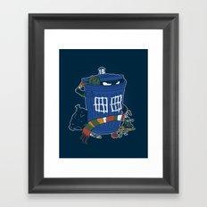 Doctor The Grouch Framed Art Print