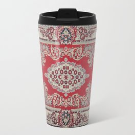 Traditional Glorious red rug Travel Mug