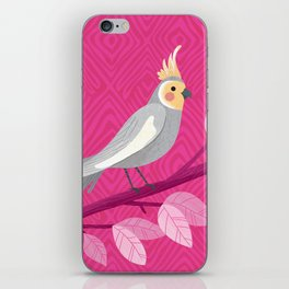 Bright Bird Portrait iPhone Skin