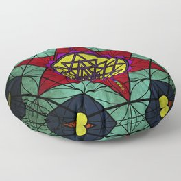 Sacred Geometry for your daily life- SRI YANTRA Floor Pillow