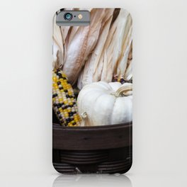 Gourds and Indian Corn 1 iPhone Case