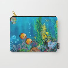 Undersea with Nautilus Carry-All Pouch