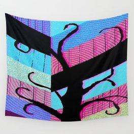 Tree P5 Wall Tapestry