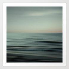 Waves of Calm V2 Art Print