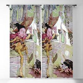 """Rumpelstiltskin"" Fairy Art by Anne Anderson Blackout Curtain"