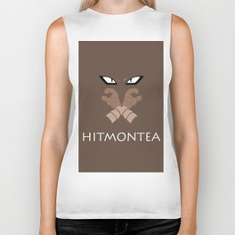 Hitmontea all over Biker Tank