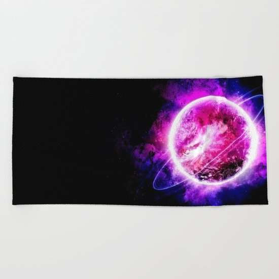 β Kraz Beach Towel