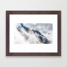 Misty Mountain II Framed Art Print