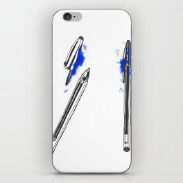 Pen iPhone Skin