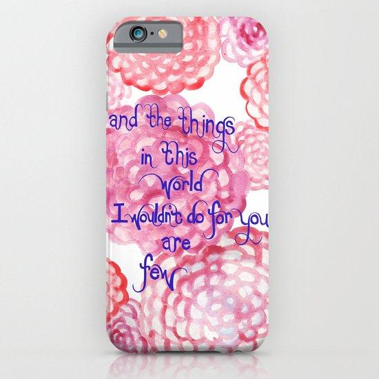 Few iPhone & iPod Case