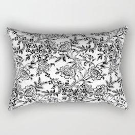 Full Moon Tea Reversed Rectangular Pillow