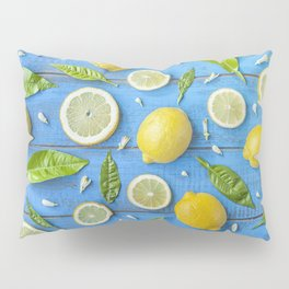 Fruits and leaves pattern (32) Pillow Sham