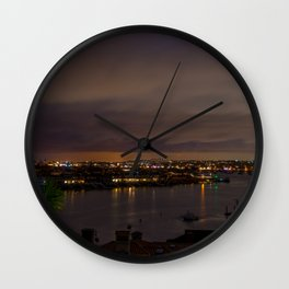 Harbor Lights Wall Clock