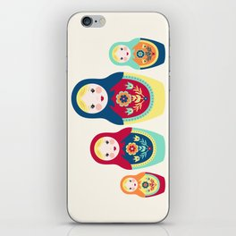 Matryoshka Dolls iPhone Skin