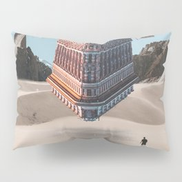 New York Upside Down Surreal Pillow Sham