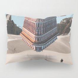 New York Upside Down Surreal Pillow Sham