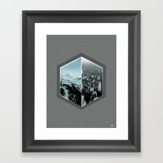 dont think twice  Framed Art Print