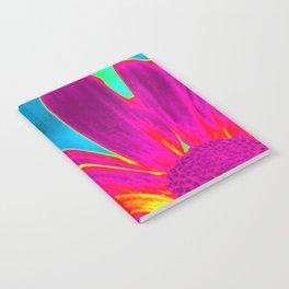 Flower | Flowers | Neon Daisy Notebook