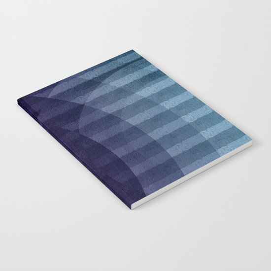 Geometric abstract BG Notebook