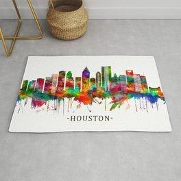 Houston Texas Skyline Rug