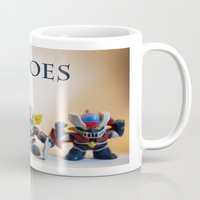 heroes of olympus Mugs featuring heroes by caporilli