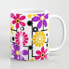 Fashionable floral multicolored pattern Coffee Mug