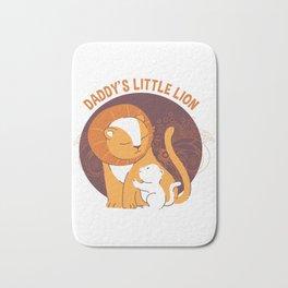 Daddy's Little Lion Bath Mat