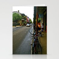 new orleans Stationery Cards featuring New Orleans by Anina Middleton