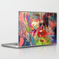 archan nair Laptop & iPad Skins featuring Lyka by Archan Nair