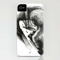 God Always Look At You From Top! iPhone (4, 4s) Slim Case