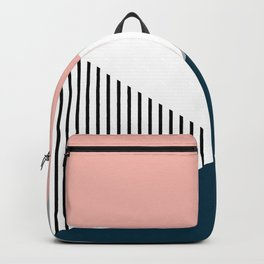 Colorful geometry 2 Backpack