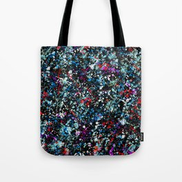 paint drop design - abstract spray paint drops 4 Tote Bag