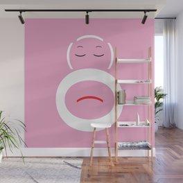 Monkey Face Wall Mural