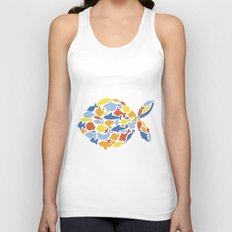 fish of fishes Unisex Tank Top