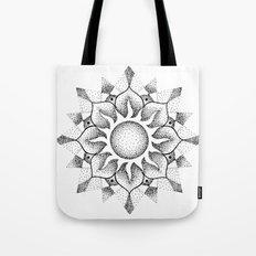 Dotwork mandala Tote Bag