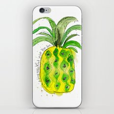 Pineapple (NOT under the sea) iPhone & iPod Skin