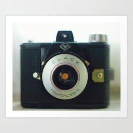 Clack camera Art Print
