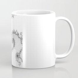 detail on mandelbrot set - starfish Coffee Mug