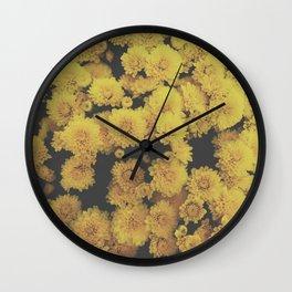 Prolific Petals Wall Clock